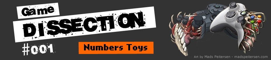 Game Dissection #001 - Numbers Toys